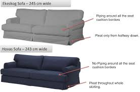 ikea ekeskog sofa