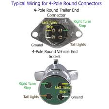 wiring diagram for 4 prong round trailer plug the wiring diagram 4 pin round trailer wiring diagram pollak wiring diagram wiring diagram