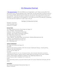 Resume Cv Resume Templates