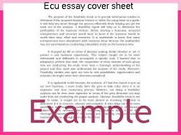 essay cover sheet ecu essay cover sheet term paper academic service
