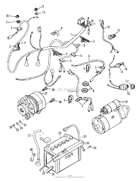 Simplicity 2097173 9528 pact diesel tractor parts diagram for