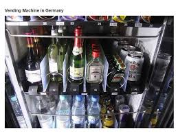 Beer Vending Machine Germany Mesmerizing STRANGE GERMAN VENDING MACHINE FROM WATER TO BEER LIQUOR WINE