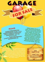 Garage Sale Flyers Free Templates Community Yard Sale Flyer Template Bromleytowing Com