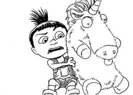 Small Picture Agnes Of Despicable Me Coloring Pages Despicable Me Coloring