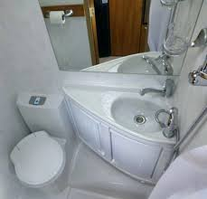 luxury shower toilet combo for camper