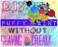 diy puffy paint without shaving cream jennyproducesvids