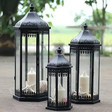 floor lanterns for candles photo 4 of outdoor iron candle lantern glass lantern lamp wedding road floor lanterns for candles