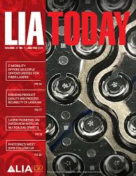 Lia Designation Lia Today January February 2019 Issue By Laser Institute Of