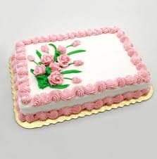 #11 <b>Pink Roses</b> Floral Cake | Hy-Vee Aisles Online Grocery Shopping