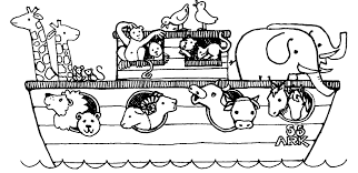 Noah Coloring Pages For Kids Archives And Noah Ark Coloring Pages