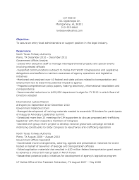 Stunning Sample Resume Government Affairs Pictures Inspiration