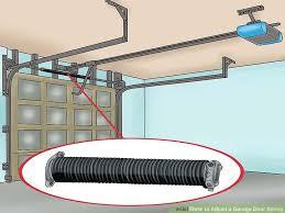 image titled adjust a garage door spring step 2