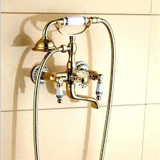 hand held showers that attach to tub faucet handheld shower head attaches to your tub spout hand held showers