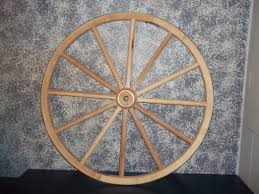 get ations steam bent hickory wooden western wagon wheel 36 x 2 handcrafted by old