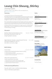 Finance Intern Resume Samples Visualcv Resume Samples Database