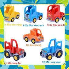 Đồ Chơi Giá Rẻ] Hãng Gorock- Mô hình các loại xe và máy bay tương thích với  Lego Duplo, giá chỉ 180,000đ! Mua ngay kẻo hết!