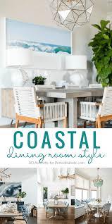 coastal dining room. Coastal Dining Room Style Tips And Inspiration @Remodelaholic -