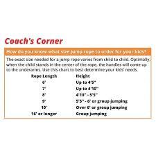 Jump Rope Length Chart Loffa