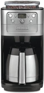 The grind control is fitted with adjustable stainless steel burrs. Amazon Com Cuisinart Dgb 900bc Grind Brew Thermal 12 Cup Automatic Coffeemaker Drip Coffeemakers Kitchen Dining