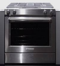 stove with downdraft vent. Perfect Downdraft KitchenAid KSDG950ESS Downdraft Range On Stove With Vent R