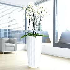 decorative outdoor plant holders planters large indoor plant pots planters for trees tall indoor plants white