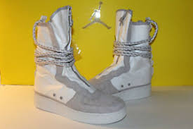 Nike Special Field Boot Size Chart Nike Sf Af1 Hi Special Field Boots Summit White Vast Grey