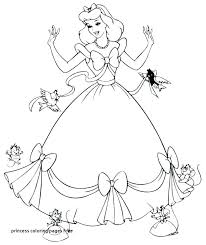 Coloring Pages Of Princesses In Disney Princess Coloring Pages