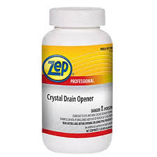 zep drain cleaner. Crystal Drain Opener - 1 Pound 1048856 Zep Cleaner
