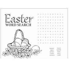 Small Picture Easter Word Search Kids Craft Easter Pinterest Word search