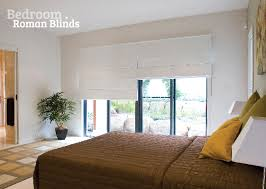 Roman blinds are great bedroom blinds