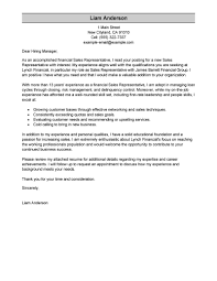 Sales Position Cover Letter Sample Leading Professional Sales Representative Cover Letter Examples