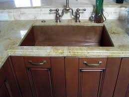 Granite Undermount Kitchen Sinks Copper Kitchen Sink With Undermount Idea And Granite Top