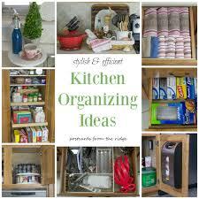 Kitchen Office Organization Backyards Kitchen Organization Tips Postcards From The Ridge