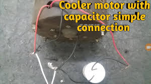connection of cooler motor you