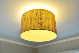 oh and changing the bulbs is simple since we can easily remove the shade from above that gap between the pendant and the ceiling is key so even though you
