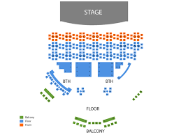 Chippendales Theatre Rio Hotel And Casino Seating Chart
