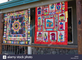 QUilts on display at the Sisters Outdoor Quilt Show, SIsters ... & QUilts on display at the Sisters Outdoor Quilt Show, SIsters, Oregon Adamdwight.com