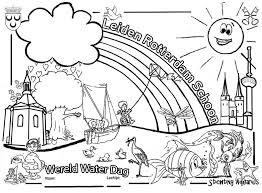 De Wereld Water Dag 2019 Kleurplaat Is Uit 12e Nationale Wereld