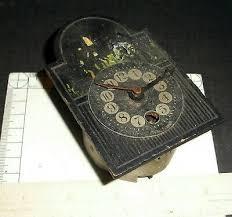 decorative arts antique wall clock