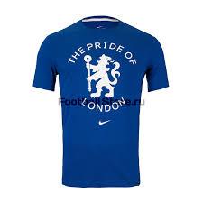 Футболка хлопковая <b>Nike Chelsea</b> AQ7512-495 – купить в ...
