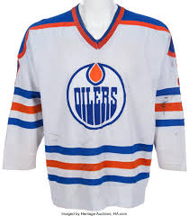A personalized certificate of authenticity. 1980 81 Paul Coffey Game Worn Edmonton Oilers Rookie Jersey Lot 82538 Heritage Auctions