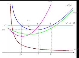 Реферат Основы теории совершенной конкуренции РисунокМаксимизация положительной экономической прибыли конкурентной фирмой в краткосрочном периоде общие выручка издержки и прибыль