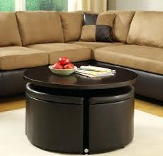 coffee table with seats marvelous round coffee table with seats with modern round coffee table with coffee table with