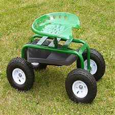 garden seat on wheels. Garden Scoot With Tractor Seat And Pneumatic Wheels. View Larger Photo On Wheels 0