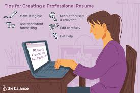Applicant Resumes How To Create A Professional Resume