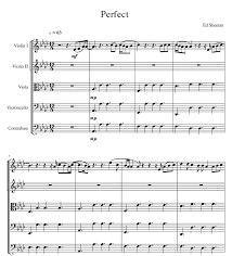 ed sheeran sheet music hey guys this week i arranged perfect by ed titles arent my forte