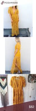 The 9 best images about Dresses on Pinterest Playsuits Mustard.