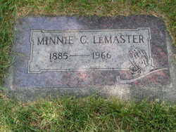 Minnie Conley LeMaster (1885-1966) - Find A Grave Memorial