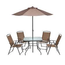 Fancy Outside Table Chairs Rattan Outdoor Garden Floor brushandpalette