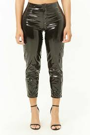 kii vinyl ankle pants